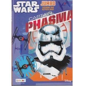 Coloring Book - Star Wars - Captain Phasma